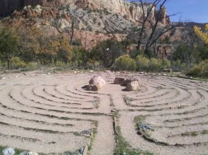This was a labyrinth at Ghost Ranch in New Mexico which I visited four years ago. i hope to go back someday.