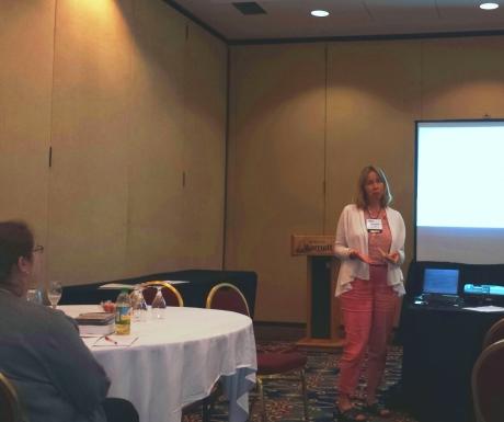 Last week I led a blogging workshop at the Hudson -Mohawk ASTD. (photo by Mark Grimm)