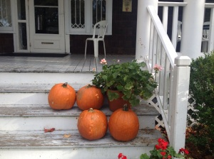 Pumpkins from an October retreat on Shelter Island.